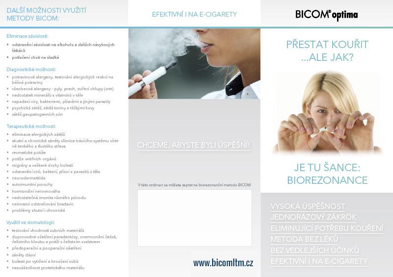 Bicom - Přestat kouřit